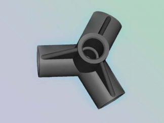 Крестовина для телескопических труб