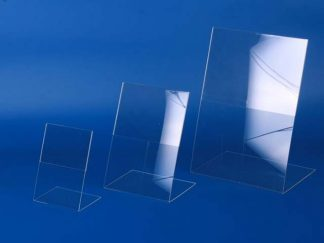 Подставка настольная L-образная из оргстекла