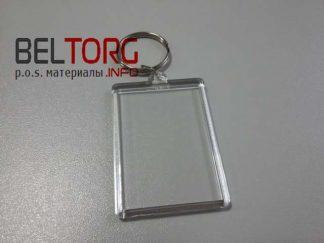 """Прямоугольный брелок """"Спутник-3"""""""