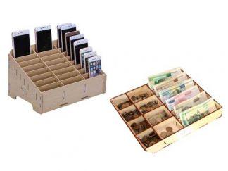 Ящики для монет и телефонов