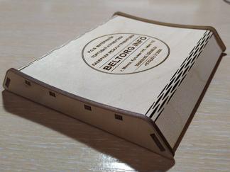 Монетница деревянная